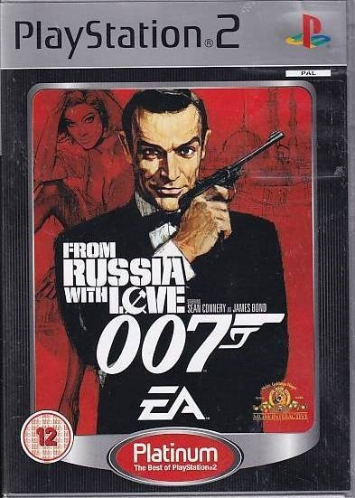 007 From Russia with Love - Platinum - PS2 (B Grade) (Genbrug)