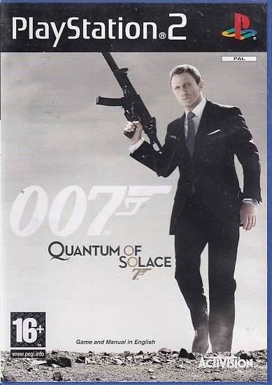 007 Quantum of Solace - PS2 (Genbrug)