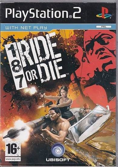 187 Ride or Die - PS2 (B Grade) (Genbrug)