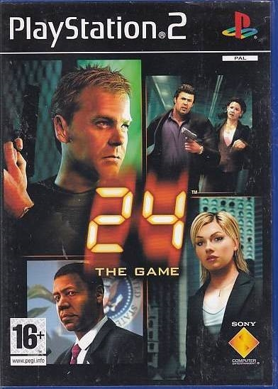 24 The Game - PS2 (Genbrug)