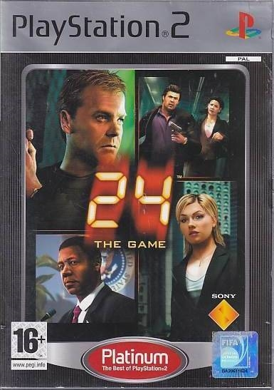 24 The Game - PS2 - Platinum (Genbrug)
