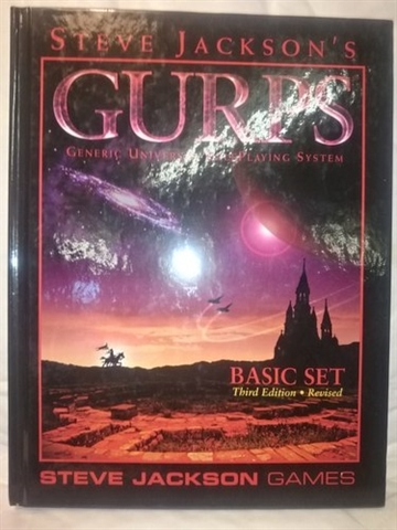 GURPS 3rd - Basic set Revised - Softcover (Grade B) (Genbrug)