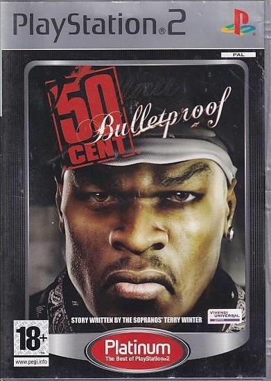 50 Cent Bulletproof - PS2 - Platinum (Genbrug)