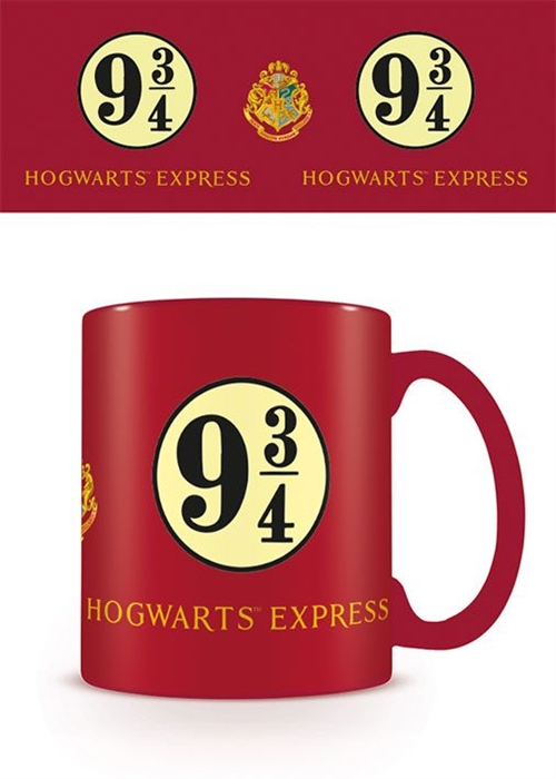 9 3/4 Hogwarts Express - Harry Potter Krus