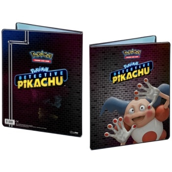 9-Pocket Detective Pikachu Mr. Mime - A4 Pokemon Mappe