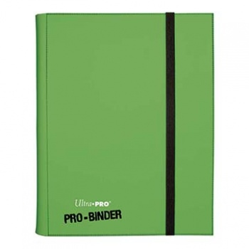 Kort tilbehør - 9-Pocket Portfolio - Light Green - Samle Mappe