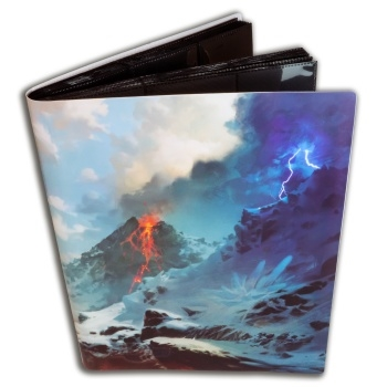 9-Pocket Portfolio - Mountain - A4 Samle Mappe