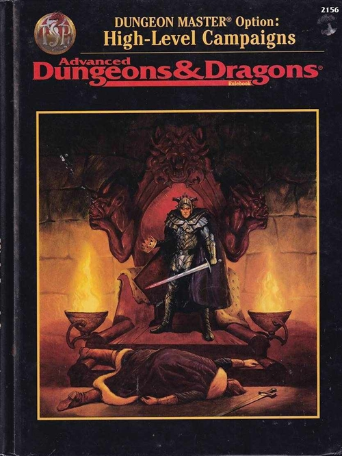 Advanced Dungeons & Dragons - Dungeon Master Options - High-Level Campaigns (B Grade) (Genbrug)