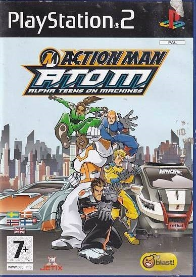 Action Man ATOM Alpha Teens on Machines - PS2 (Genbrug)