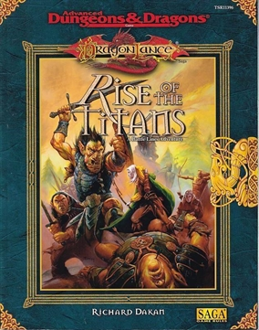 Advanced Dungeons & Dragons - Dragonlance - Rise of the Titans (Genbrug)