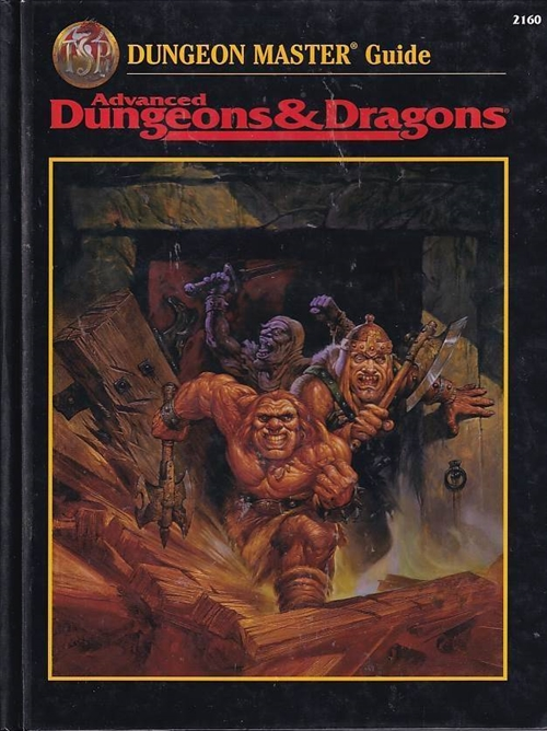 Advanced Dungeons & Dragons - Dungeon Master Guide (Genbrug)