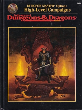 Advanced Dungeons & Dragons - Dungeon Master Options - High Level Campaigns (Genbrug)