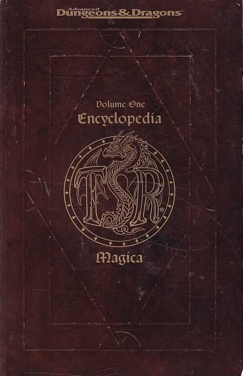 Advanced Dungeons & Dragons - Encyclopdia Magica Volume one (Genbrug)