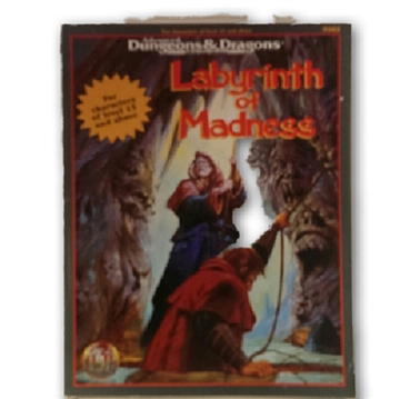 Advanced Dungeons & Dragons - Labyrinth of Madness - Rollespilsbog (Genbrug)