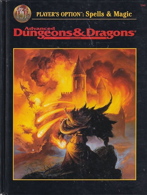 Advanced Dungeons & Dragons - Players option Spells & Magic (B-Grade) (Genbrug)