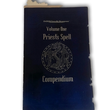 Advanced Dungeons & Dragons - Priests Spell Compendium Volume one - Rollespilsbog (Genbrug)