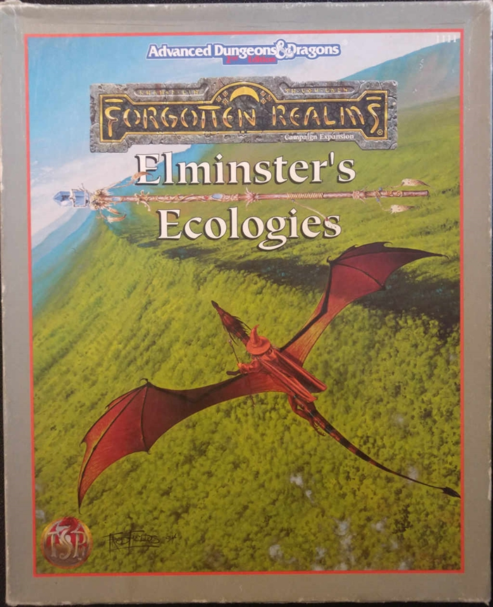 Advanced Dungeons & Dragons 2nd Edition - Forgotten Realms - Elminsters Ecologies (B Grade) (Genbrug)