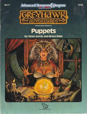 Advanced Dungeons & Dragons 2nd Edition - Greyhawk - Puppets (B Grade) (Genbrug)