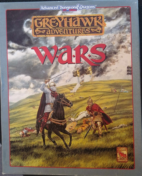 Advanced Dungeons & Dragons 2nd Edition - Greyhawk - Wars - Boxed Set (C Grade) (Genbrug)