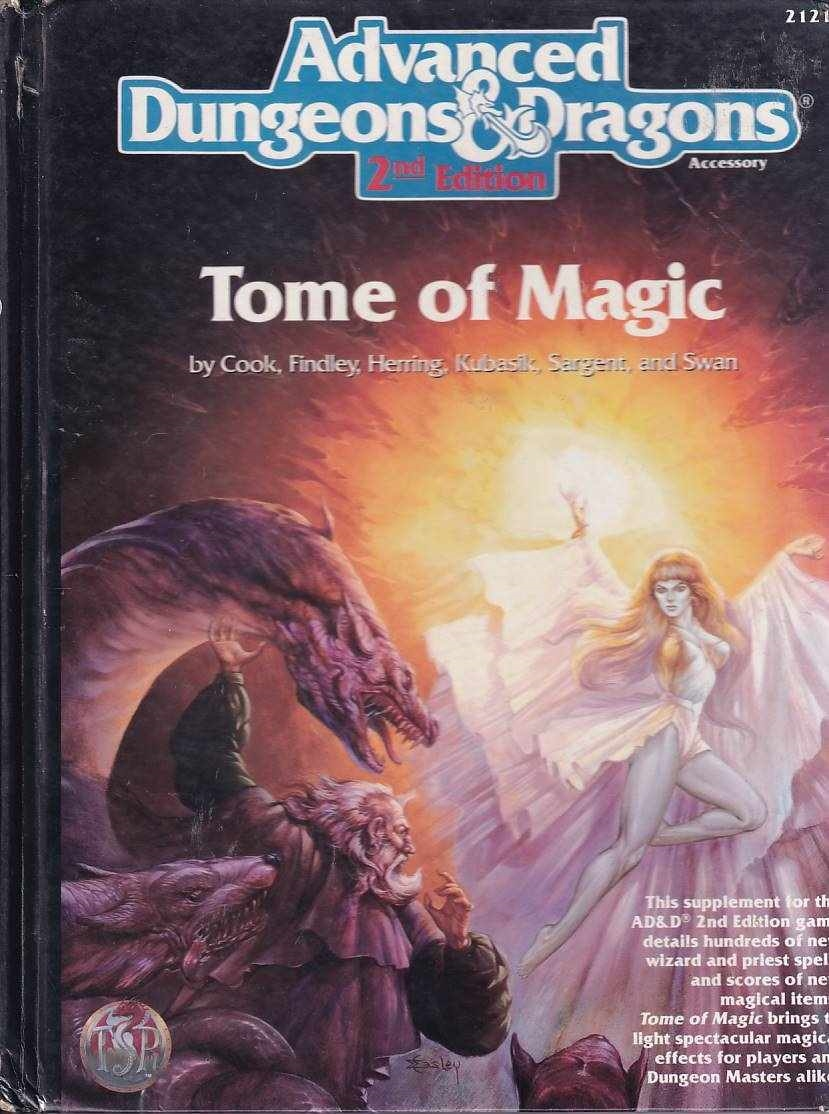 Advanced Dungeons & Dragons 2nd Edition - Tome of Magic (C Grade) (Genbrug)