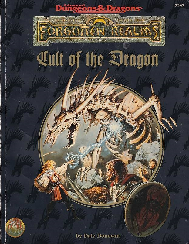Advanced Dungeons & Dragons - Forgotten Realms - Cult of the Dragon (B Grade) (Genbrug)