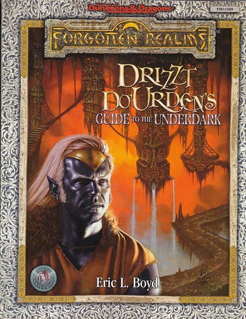 Advanced Dungeons & Dragons - Forgotten Realms - Drizzt DoUrdens Guide to the Underdark (B Grade) (Genbrug)