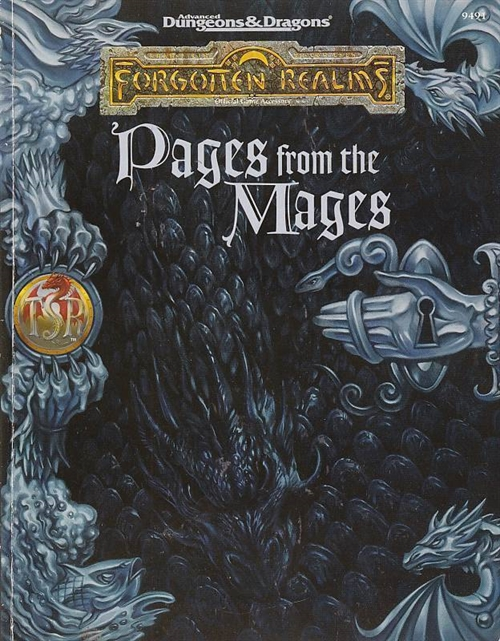 Advanced Dungeons & Dragons 2nd Edition Forgotten Realms Pages from the Mages (B-Grade) (Genbrug)