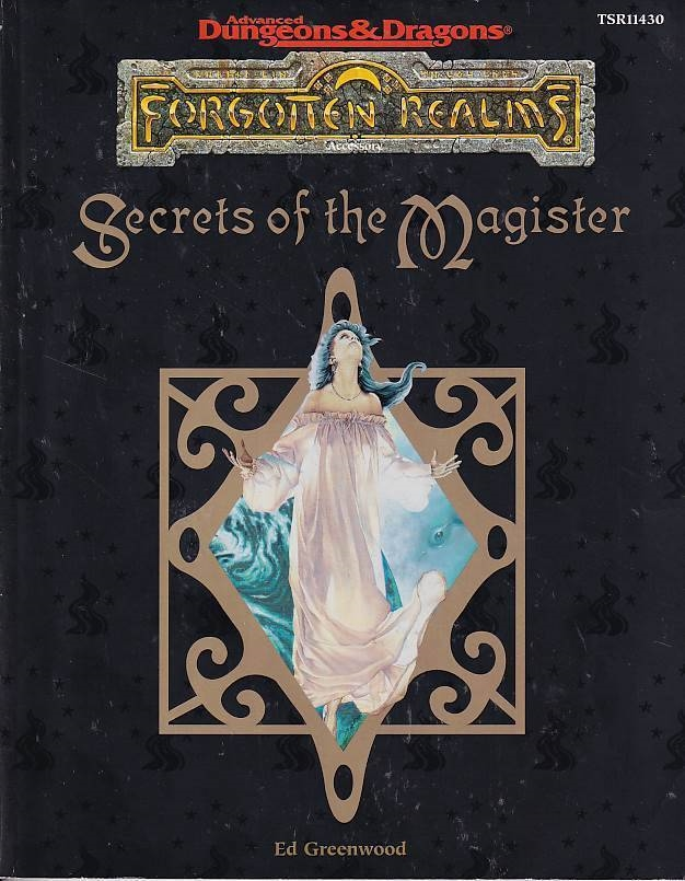 Advanced Dungeons & Dragons - Forgotten Realms - Secrets of the Magister (B Grade) (Genbrug)