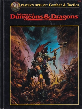 Advanced Dungeons & Dragons Players Option Combat & Tactics (Genbrug)