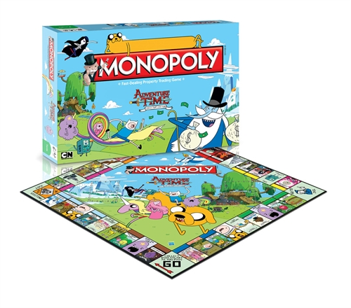 Adventure Time - Monopoly - Brætspil