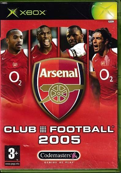 Arsenal Club Football 2005 - XBOX (B Grade) (Genbrug)