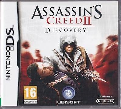 Assassin\'s Creed II - Discovery - Nintendo DS (A Grade) (Genbrug)