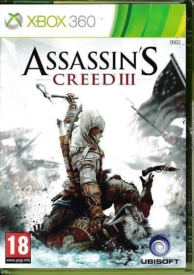 Assassin's Creed III - XBOX 360 (B Grade) (Genbrug)