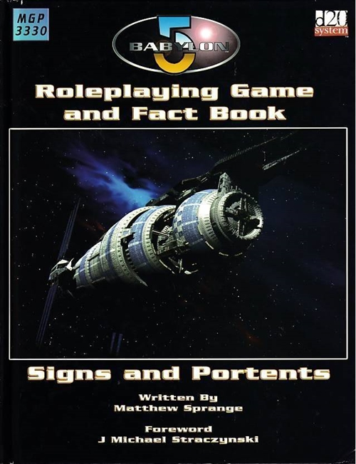 Babylon 5 - Roleplaying Game and Fact Book - Signs and Portents (B Grade) (Genbrug)