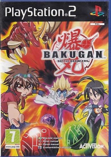 Bakugan Battle Brawlers - PS2 (Genbrug)