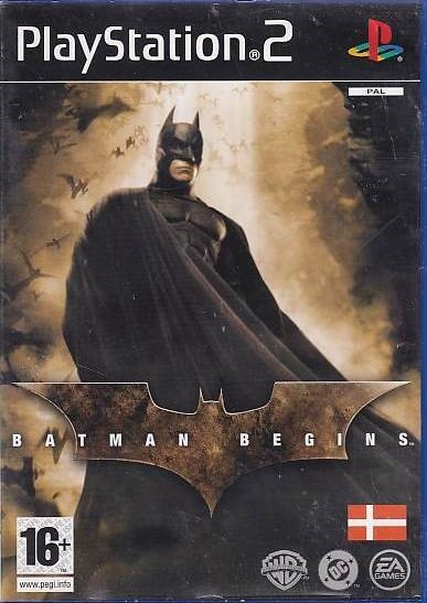 Batman Begins - PS2 (Genbrug)