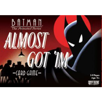 Batman The Animated Series - Almost Got 'Im Card Game - Party Game