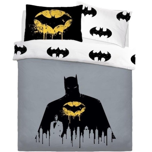 Batman sengetøj - Reversible Dark Knight - Dobbeltdyne