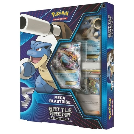 Battle Arena Decks - Mega Blastoise - Pokemon kort