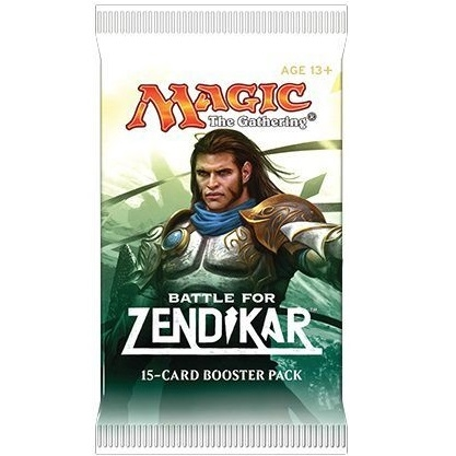 Battle for Zendikar - Booster Pakke - Magic The Gathering
