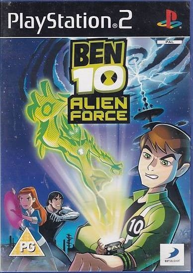 Ben 10 Alien Force - PS2 (Genbrug)