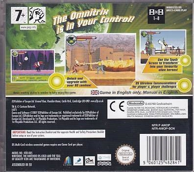 Ben 10 Protector of Earth - Nintendo DS - Uden Manual (A Grade) (Genbrug)