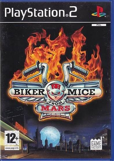 Biker Mice from Mars - PS2 (Genbrug)