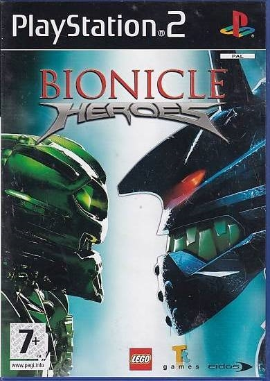 Bionicle Heroes - PS2 (Genbrug)