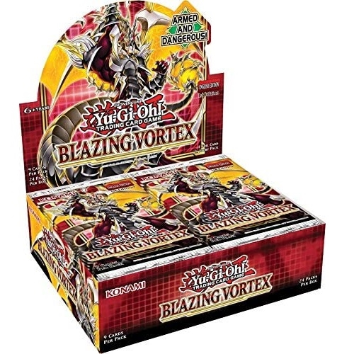 Blazing Vortex - Booster Box Display (24 Booster Pakker) - Yu-Gi-Oh kort