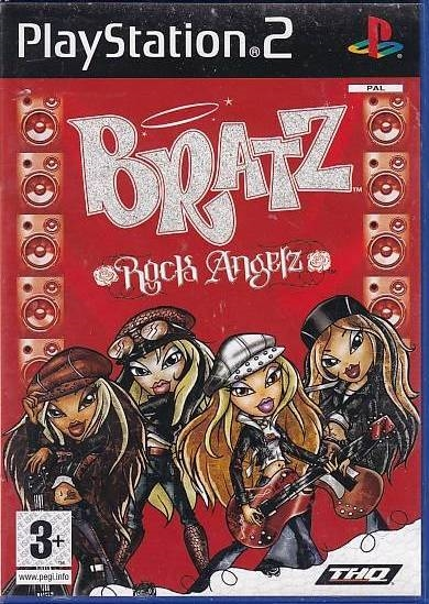 Bratz Rock Angelz - PS2 (Genbrug)