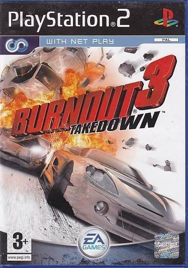 Burnout 3 Takedown - PS2 (Genbrug)