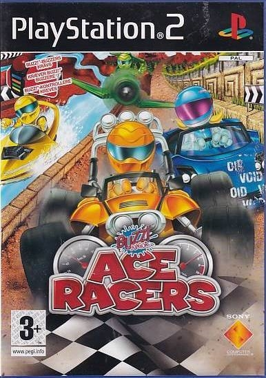 Buzz! Junior Ace Racers - PS2 (Genbrug)