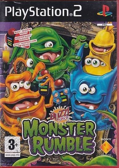 Buzz! Junior Monster Rumble - PS2 (Genbrug)