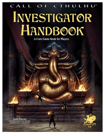 Call of Cthulhu 7th -  Investigator Handbook